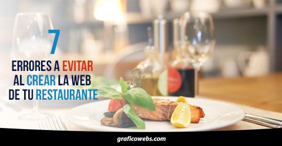 7 errores a evitar al crear la web de tu restaurante
