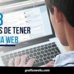 Los 8 Beneficios De Tener Página Web