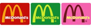 mcdonalds logo otros colores