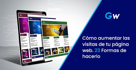 Cómo aumentar las visitas de tu página web